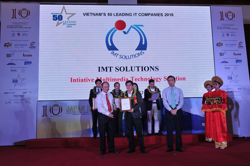 IMT Solution in Top 50 Vietam IT Companies 2016