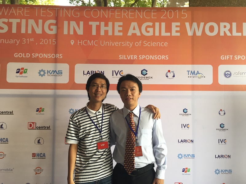 IMT CTO and speaker at Software Testing in the Agile World Conference