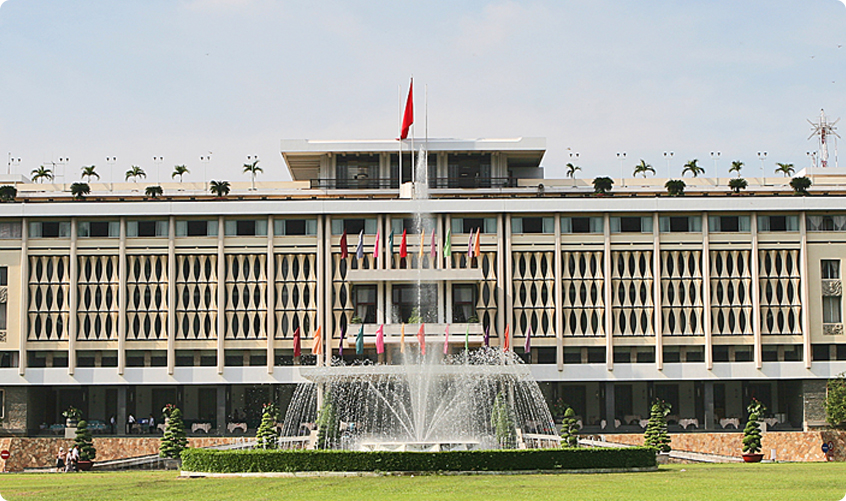 Reunification Palace - also known as Independence Palace